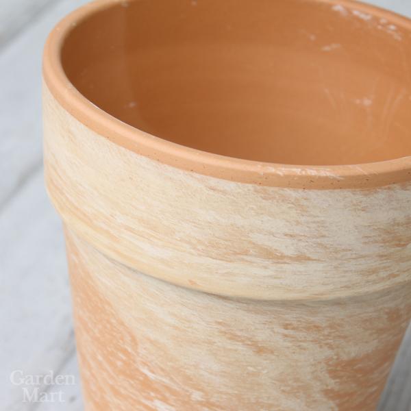 도자기 냄비 토르 냄비 3 개 세트 외경 17cm 사이즈 세련 된 테라코타/화분/독일 제