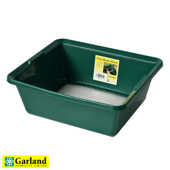 送料無料でお届けします イギリス生まれのプラスチックガーデンツール 金網一体型 ふるい 土壌こし - Fine Mesh セットアップ Products Garland ガーランドプロダクツ Sieve Ltd. 2021年6月再入荷