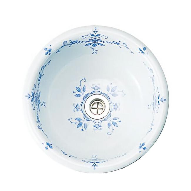 手洗器/HandwashBASINオールドイングランド 手洗い鉢M ラウンド[オーバーカウンター型] 【メーカー取り寄せ品】