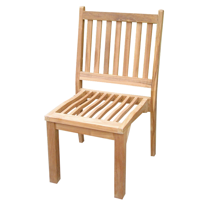 Gmart Garden Chair Chairs Wood Furniture Armless Stacking Chair