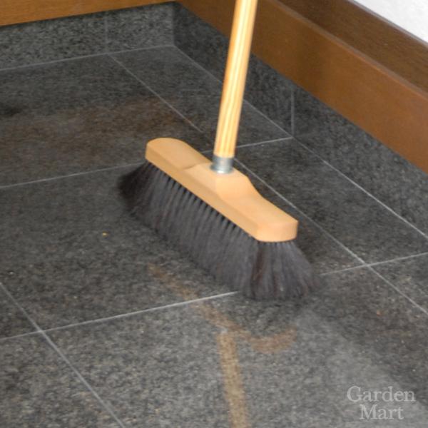 REDECKER レデッカーインドア ブルーム ウィズ スレッド(馬毛)- Indoor Broom with Therad -ブラシウッデン ブルーム スティック(ブナ)- Wooden Broom Stick -柄室内ほうき 【2019年3月再入荷】