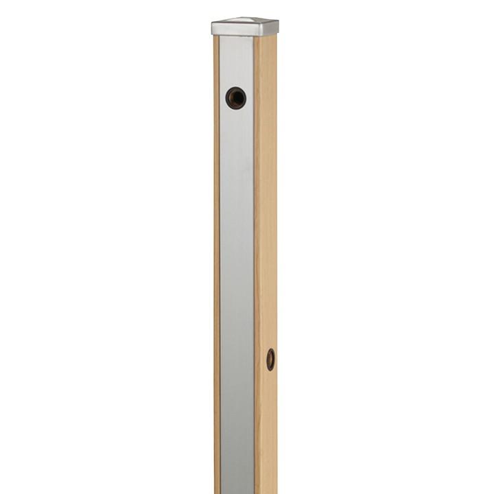 ユニット立水栓「木目調」スプレスタンド70角(ウッドベージュ)蛇口なし【メーカー直送品・代金引換不可】