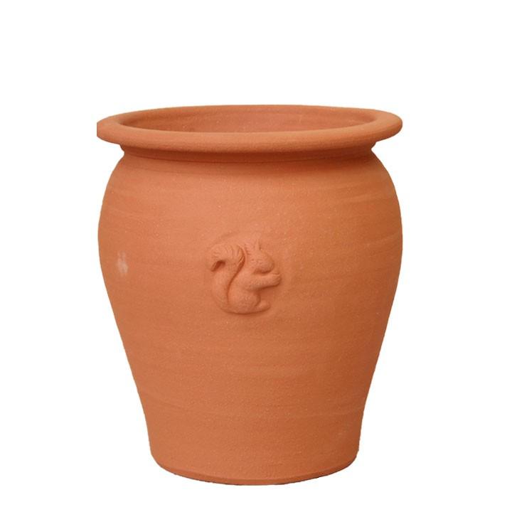 ガーデンマートオリジナル[スクワールシリーズ]アリババ ジャー 直径28cmサイズWF-GM615[ウィッチフォード テラコッタ/植木鉢]【2020年5月再入荷】