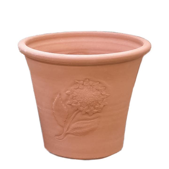 イギリス 英国憧れのWhichford 人気 おすすめ Pottery熟練の職人の手によって 手作業で製作された植木鉢 18%OFF ハイドランジアポット テラコッタ 直径34cmWF-684 ウィッチフォード 植木鉢