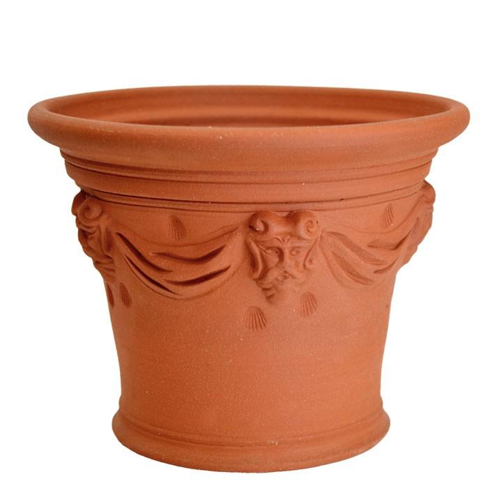 全日本送料無料  :ガーデンマート テラコッタ/植木鉢] マートルポット 直径43cmサイズWF-131D[ウィッチフォード-ガーデニング・農業