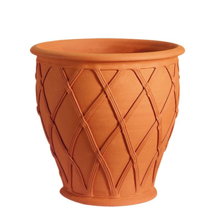 ラティスバレルWF-1498[ウィッチフォード テラコッタ/植木鉢] 【2019年4月再入荷】