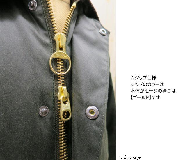 [日本正规销售代理商] BARBOUR(巴伯尔) BEDALE SL系列( 比代尔 SL)巴伯尔 比代尔系列 灰绿色 涂蜡外套 巴伯尔  修身 [男装] 比代尔系列