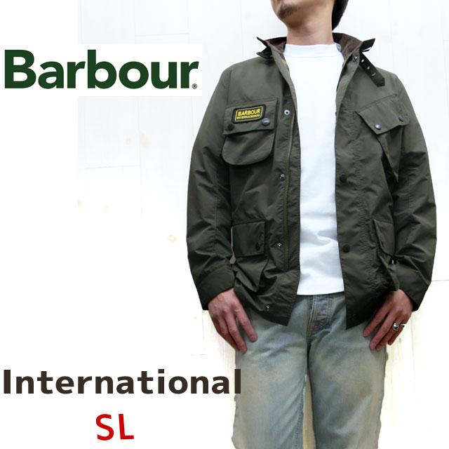 【日本正規販売代理店】BARBOUR SMB0080 バブアー INTERNATIONAL JACKET SL ( インターナショナルジャケット スリムフィット )  【 ブラック、オリーブ 】バヴアー バブワー 細身【メンズ】