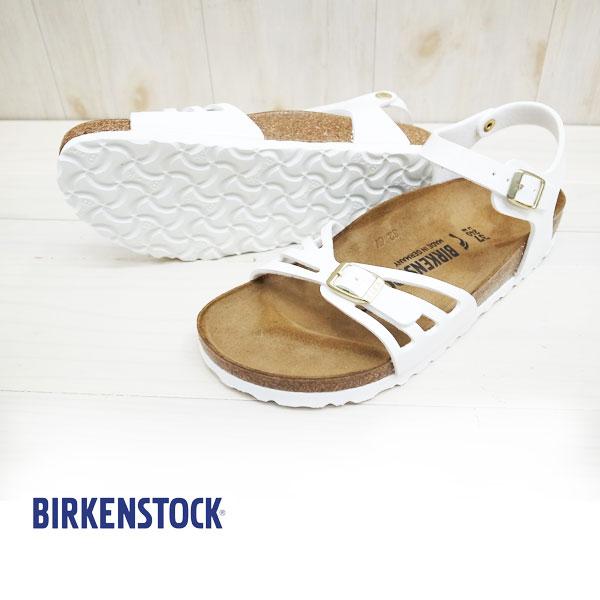 日本限定モデル【国内正規品】BIRKENSTOCK ビルケンシュトック BALI バリ アンクルストラップサンダル 【 WHITE パテント】