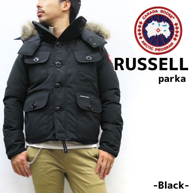 promo code e687d e62da It is ☆ canada goose [RUSSELL PARKA] Canada goose raschel men down  canadagoose Japan SMU Japan standard model for the 2019FW arrival
