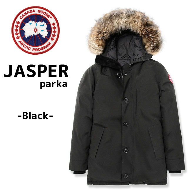 6993d39042a It is ☆ canada goose [JASPER PARKA] Canada goose jasper men down BLACK  black canadagoose Japan SMU Japan standard model 3438JM for the 2019FW ...