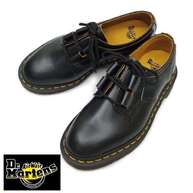 【ケア用品付】即納 DR.Martensドクターマーチン1461 Ghillie Shoe ARCHIVE 1461 GHILLIE シューズ ギリーシューズ Black