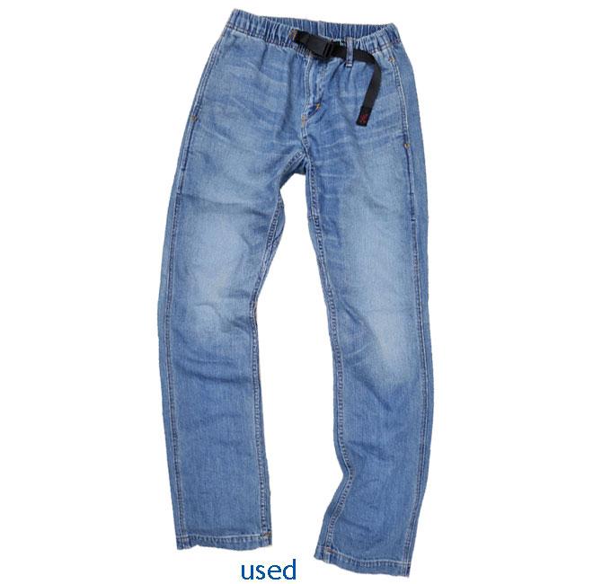 GRAMICCI JD 苗条适合裤子 (牛仔窄裤 gramicci) 牛仔 gramicci 男装心疼加工 GMP 15S018
