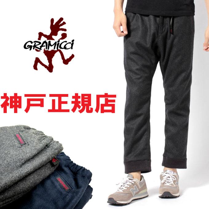 没有GRAMICCI WOOL RIB PANTS(guramichiururibupantsu)伸展的guramichimenzu GMP-14F003 ※修理不可能※