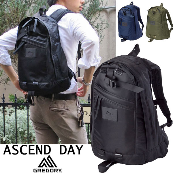 2016 SS new model ★ shiny nylon Twill daypack Edition ★ GREGORY: Gregory ASCENT DAY Ascend day ASCENT DAY PC sleeve