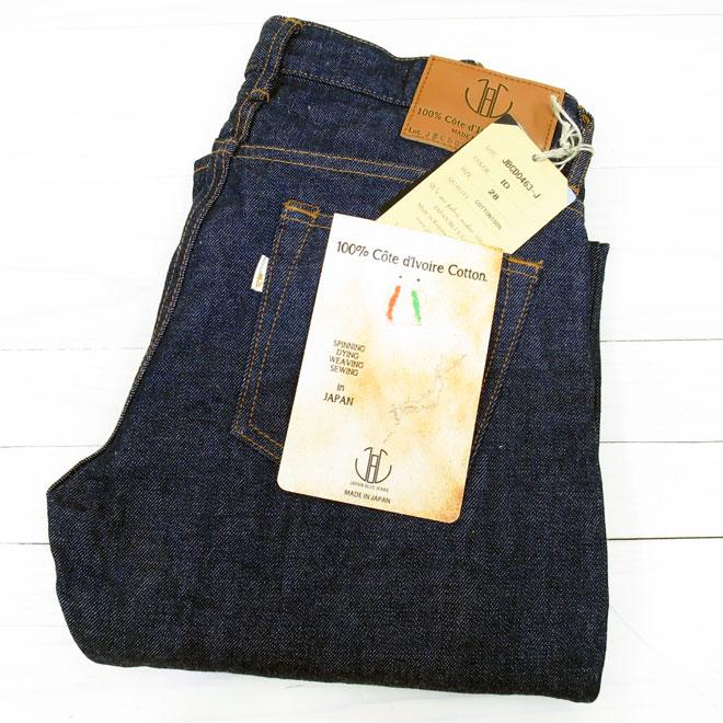 象牙海岸棉牛仔布日本蓝色牛仔裤 13.5 盎司圆锥日本蓝色牛仔裤 [JBCD0463] 男人日本蓝色牛仔布料冈山 JAPANBLUE 的女士