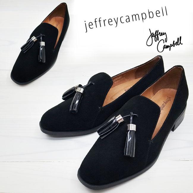 Jeffrey Campbell ( ジェフリーキャンベル ) LAWFORD マニッシュ シューズ 【BLACK】 スエード