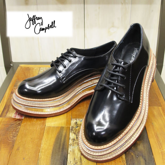 781ac0efc5c Race up Oxford shoes characterized by the thick-soled sole which became the  layer from Jeffrey Campbell ...