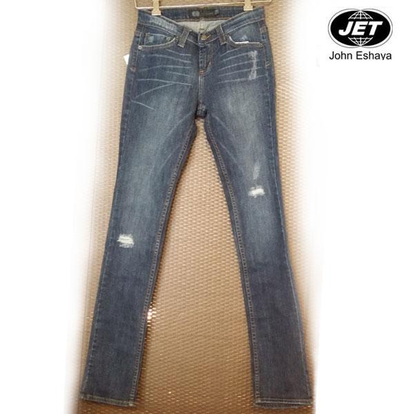 【★】 弾力あるストレッチで美脚効果&伸縮性が抜群だから履いていてもラク~な USA製 スキニーデニム jet john eshaya ( jet デニム ) ( ジェット ) LESLY SLIM