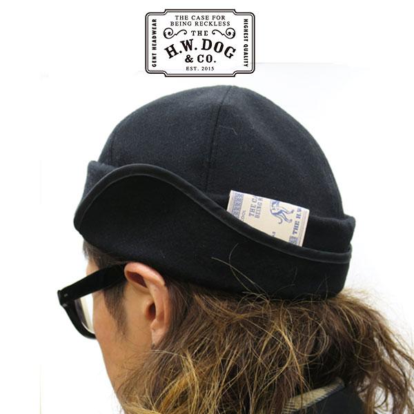【2019FWシーズンモデル】【神戸 正規取扱店】THE H.W.DOG&CO. ザ エイチ ダブリュー ドッグアンドコー フィッシュキャップFISH CAP 【 D-00365 】【 ブラック 】 メンズ レディース d00365 FISH キャップ OLD FISHERMAN CAP