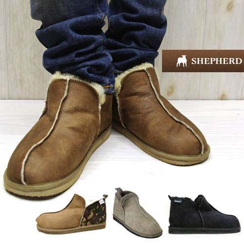 e619e138444 To last year sold ☆ 2014 AW new colors add ☆ SHEPHERD / Shepherd Sheepskin  boots Sheepskin boots mens men's Mouton Shearling boots short UGG a ...