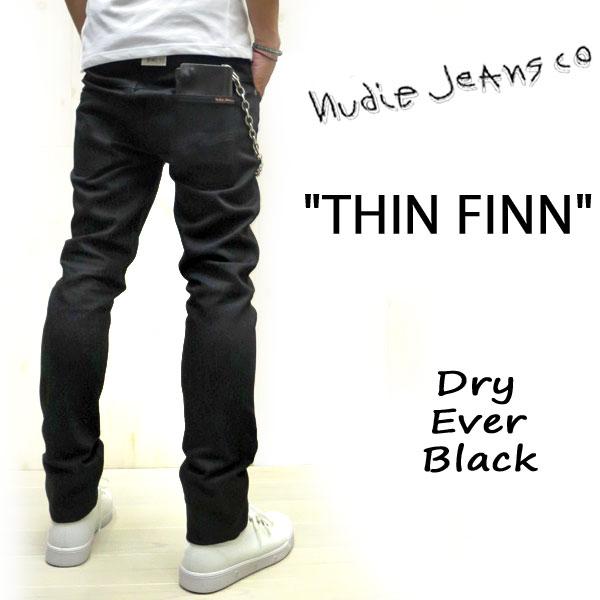 楽天市場 人気 nudie jeans のブラックデニム ヌーディージーンズ