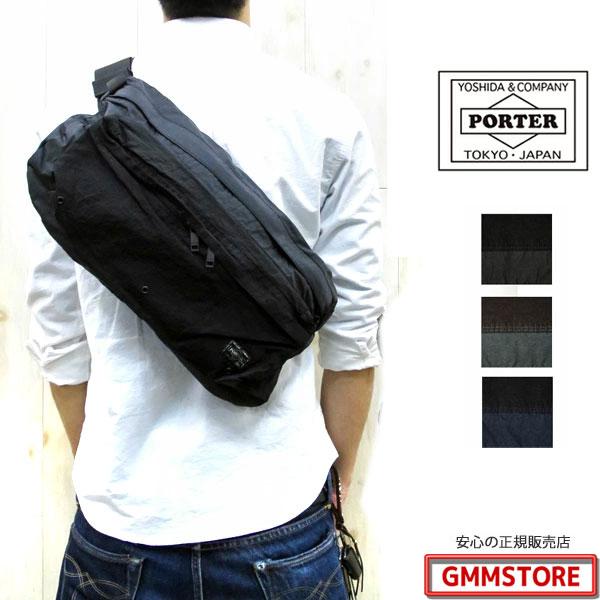 PORTER  LABORATORY ポーター ラボラトリー ウエストバッグ (L) 826-05572 (W420/H220/D60) WAIST BAG 【全3色】porter ウエストバッグ ポーター ウエストバッグ