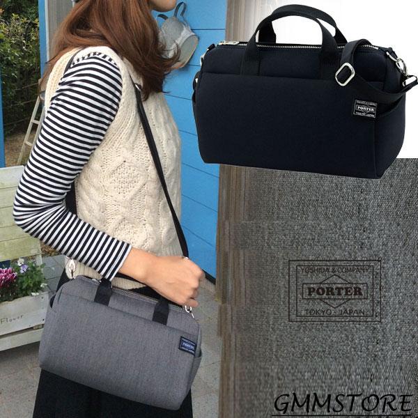 人気再入荷 [斜めがけもできる 小さめミニ ボストンバッグ ] 女子専用の ポーター シリーズ♪ PORTER GIRL porter girl urban ポーターガール アーバン  2WAY BOSTON BAG : 2WAY ボストンバッグ (全2色) 525-09966 吉田カバン