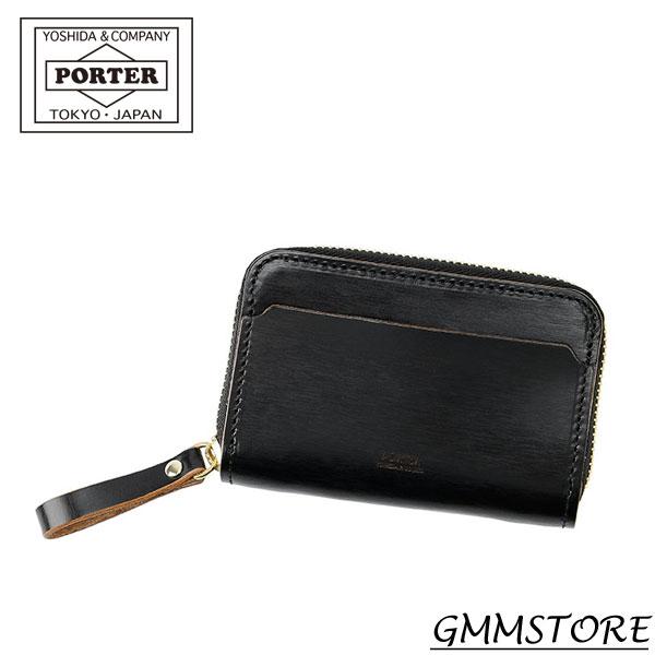 PORTER FILM COIN & CARD CASE ポーター フィルム コイン&カードケース (W110/H75、85g ) 187-01353 【ブラック】男女兼用