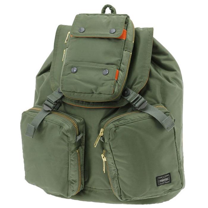 三个三维口袋点大尺寸 reuck 吉田袋波特油轮波特油轮吕克 (W350XH415XD150) 1045 g/22 升背囊 (背包) 吉田鞄 622 09162 波特背包背包