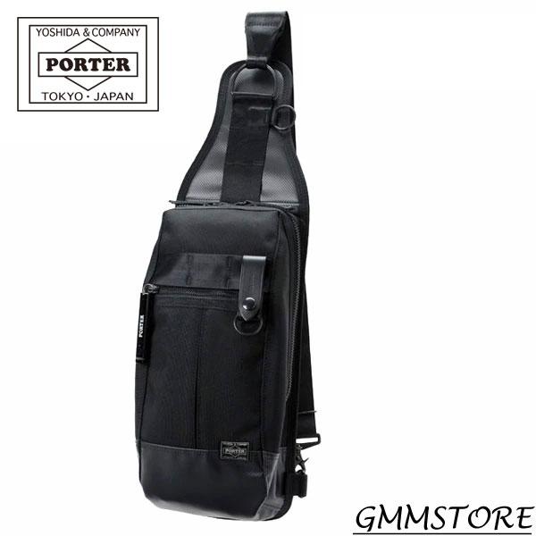 吉田かばん PORTER HEAT ( ヒート ) ONE SHOULDER BAG ( ワンショルダーバッグ )( W150/H340/D90 )675g吉田カバン ポーター ショルダー ボディバッグ703-08000