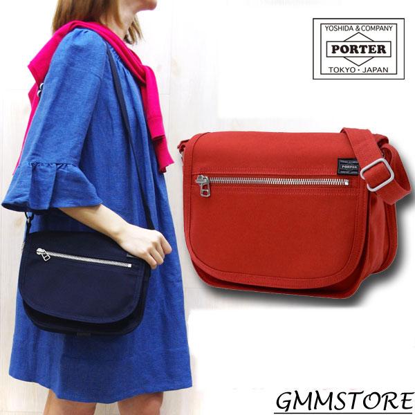 女子専用の ポーター レディースカジュアルシリーズ♪ ポーターガール ショルダーバッグ  porter girl naked  ポーターガール ネイキッド ポーターガール ショルダーバッグ S 667-09473 ポーター カバン