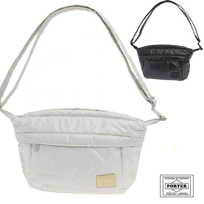 【人気】 お出かけにぴったりサイズ☆ 女子専用の ポーター ☆流れ星をイメージした都市型 アウトドア 入手困難シリーズ♪ PORTER GIRL SHOOTING STAR ポーターガール シューティングスター  SHOULDER BAG S : ショルダーバッグ S (全2色)606-08523