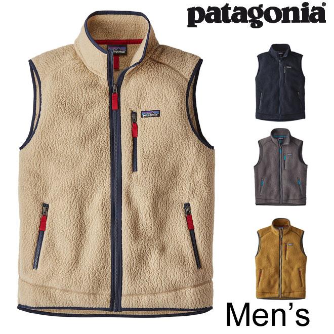 2018FW【 パタゴニア正規代理店 】 patagonia / パタゴニア メンズ・レトロ・パイル・ベスト 【定番フリースベスト】MEN'S RETRO PILE VEST [22820] 【メンズ ベスト】【全4color】