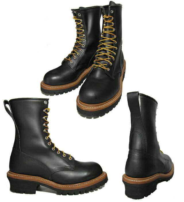 "RED WING 9 ""LOGGER BOOTS logger boots #8210 9 インチラウンドトゥ Vibram sole wise D REDWING"