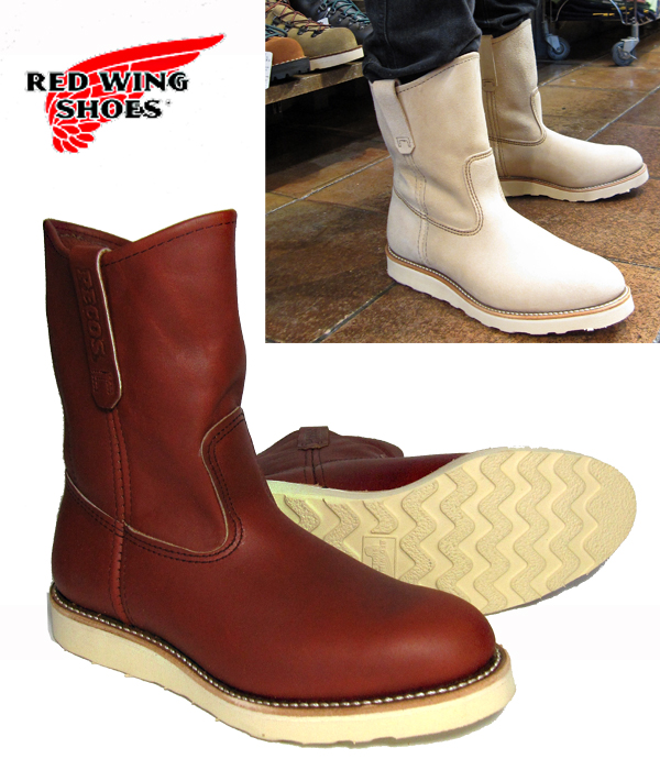 PECOSBOOTS RED WING Pecos #8866 9-inch crepe sole wise D, E REDWING