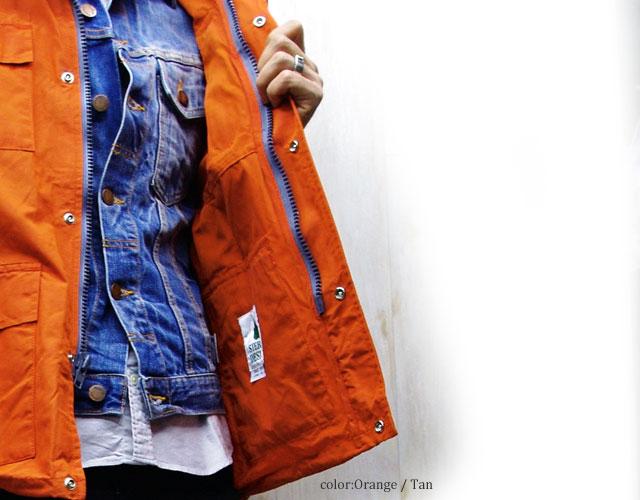 [特别优惠] 塞拉利昂设计塞拉利昂设计 3014 G 洗短风衣 2 石洗短皮大衣 60 / 40 座山帕克男装复古坦 X 坦