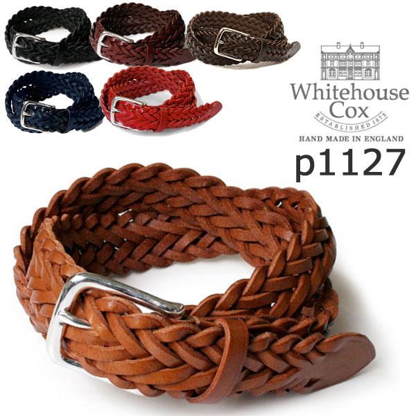 最受欢迎产品怀特豪斯考克斯考克斯白宫 P-1127年全谷物牛隐藏 (フルグレインカウハイド) 32 毫米西隧白宫考克斯带网带编织带