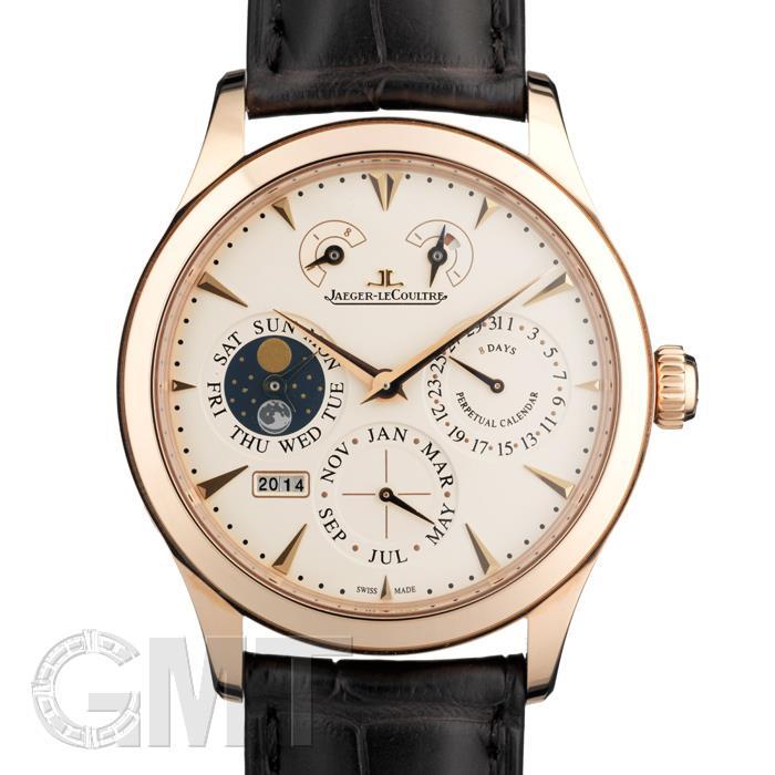 ジャガー・ルクルト JAEGER LECOULTRE マスター エイトデイズ パーペチュアル PG革 Q1612420※ 新品 腕時計 メンズ 送料無料
