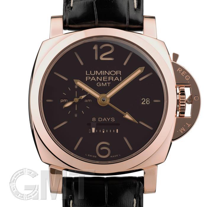 オフィチーネ パネライ ルミノール1950 8DAYS GMT オロロッソ PAM00576※ OFFICINE PANERAI 新品 腕時計 メンズ 送料無料
