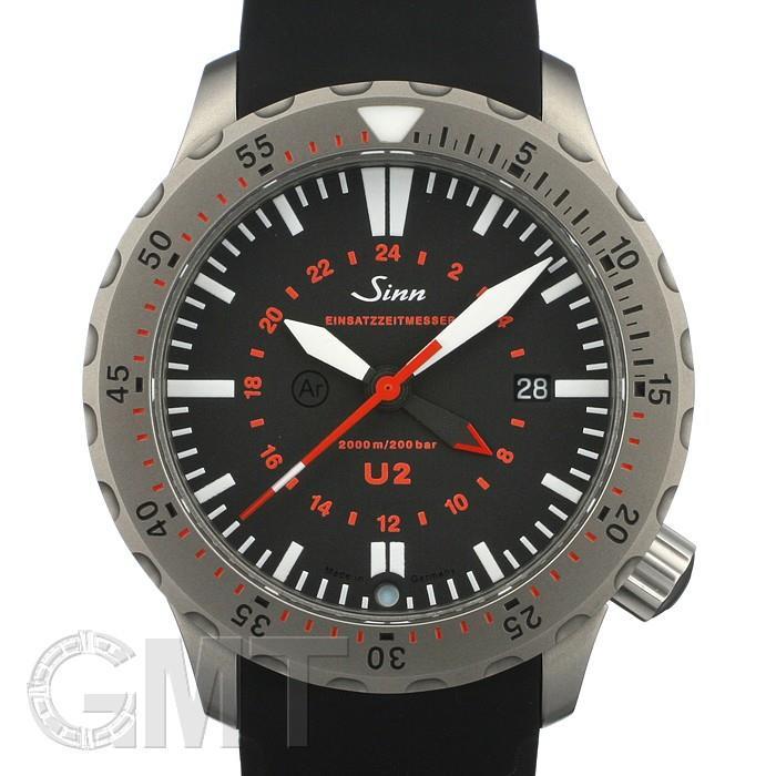 ジン Uシリーズ U2 ブラック SINN 【新品】 【腕時計】【メンズ】 【送料無料】 【あす楽_年中無休】