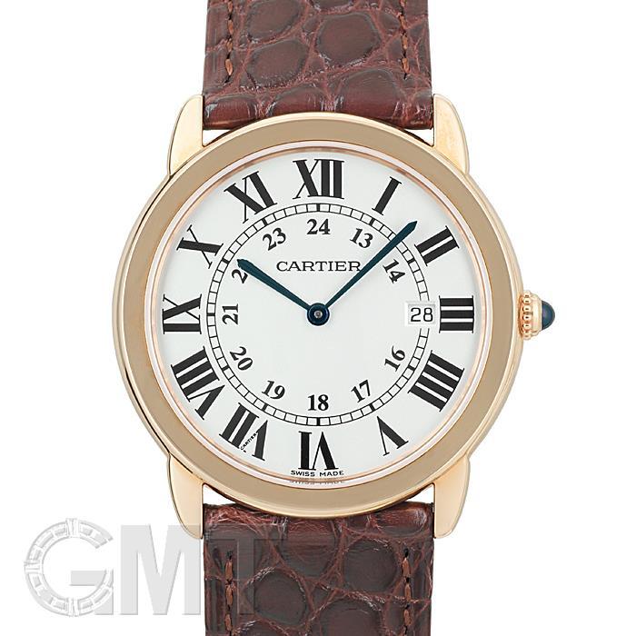 カルティエ ロンドソロ ドゥ カルティエ LM W6701008 CARTIER 【新品】 【腕時計】【メンズ】 【送料無料】 【あす楽_年中無休】