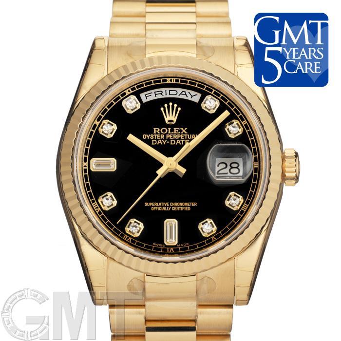正規代理店 ROLEX ロレックス デイデイト 118238A ブラック 新品腕時計 メンズ 送料無料, ROCKIN WEB 小島屋 5765621b