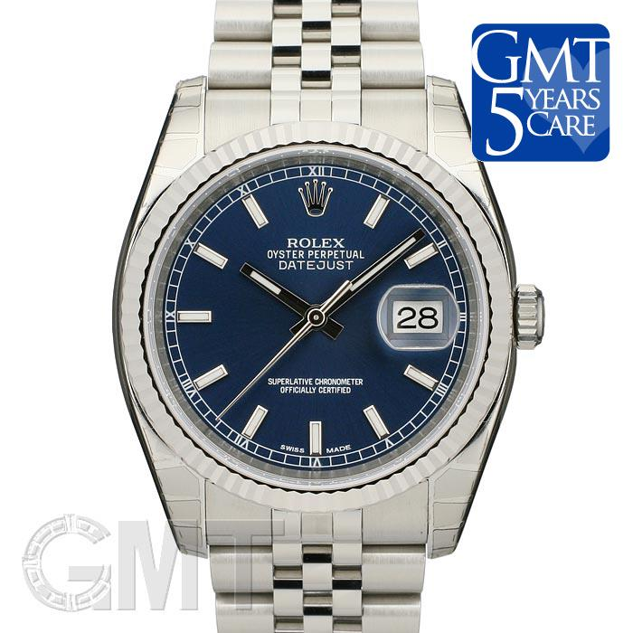ROLEX ロレックス デイトジャスト Ref.116234 ブルー 新品腕時計 メンズ 送料無料