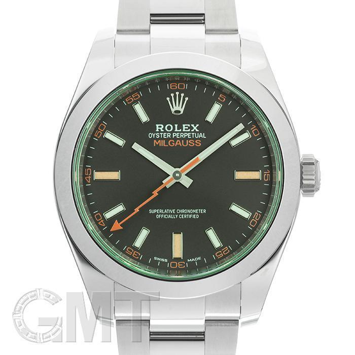 ロレックス ミルガウス 116400GV ブラック ROLEX 【新品】【メンズ】 【腕時計】 【送料無料】 【あす楽_年中無休】