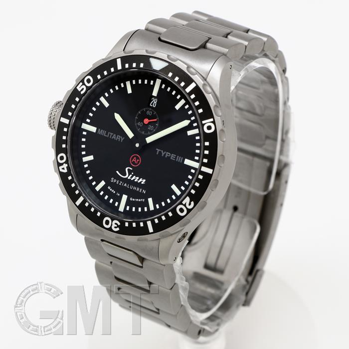 Jin military Military Type III black Japan Limited Edition 300 this SINN