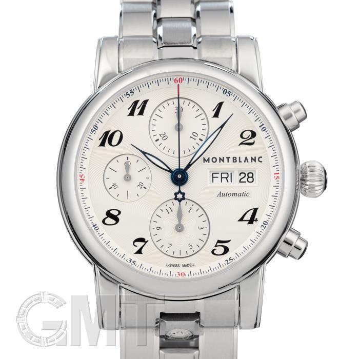 [最大3万円引き! 5/1]モンブラン スター クロノグラフ シルバー 106468 MONTBLANC新品腕時計メンズ送料無料