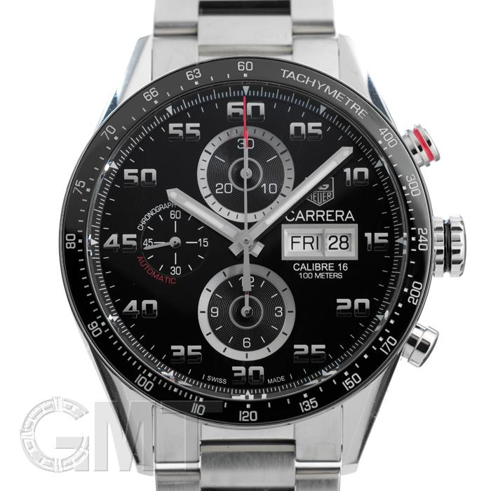 [最大3万円引き! 5/1]タグ・ホイヤー カレラ Cal.16 クロノグラフ デイデイト ブラック CV2A1R.BA0799 TAG HEUER 新品腕時計 送料無料