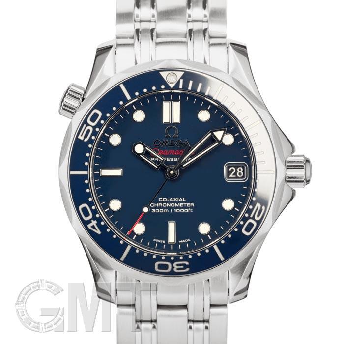 オメガ シーマスター 300m コーアクシャル 212.30.36.20.03.001 ブルー OMEGA 新品ユニセックス 腕時計 送料無料