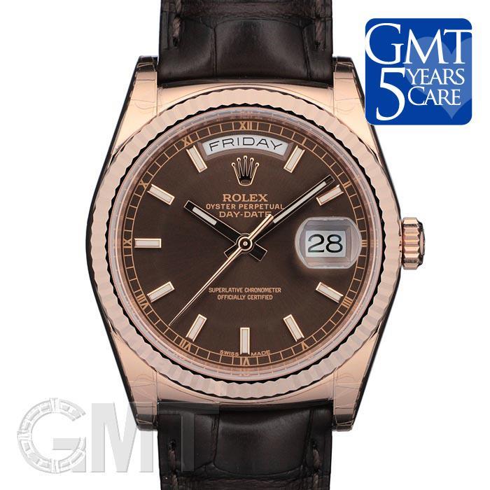 最高の品質 ロレックス 118135 デイデイト 118135 チョコレート ROLEX ロレックス 新品メンズ 腕時計 チョコレート 送料無料, ブランディング:a3812d44 --- online-cv.site